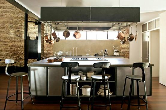 Bucatarii Cu Design Industrial Idei Pentru Casa Si Gradina