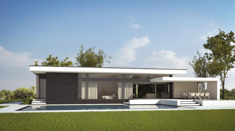 Casa farm house proiecte case parter case parter for Diseno casa moderna una planta