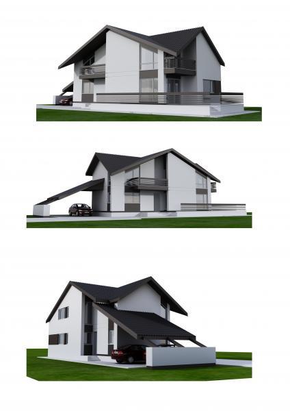 Proiecte Case Etaj Casa Beatrice