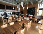 Design interior eco. Thatcher's Coffee