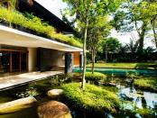 Casa verde. Singapore