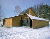 Casa din lemn Bihoro. Japonia