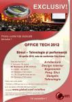 Office Tech 2012. Prima conferinta dedicata tehnologiei la birou