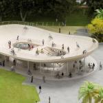Pavilionul bicicletelor. NL Architects