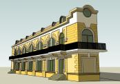 Restaurant cu Arhitectura Clasica