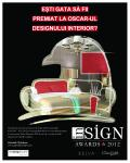 Concursul Insign Awards premiaza  excelenta in design interior