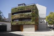 Casa cu gradina verticala