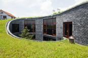 Casa din piatra in spirala