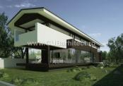 Casa din lemn cu mansarda Piatra Neamt (Cod TTPN)