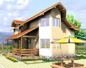 Casa lemn Vicentiu
