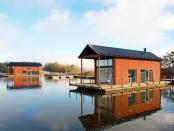 Prima comunitate de case plutitoare din Finlanda