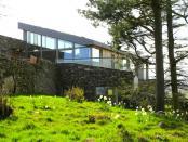 Casa ecologica izolata termic cu lana de oaie