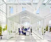 Statie feroviara transformata in birourile Casa Mediterraneo