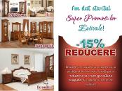 Grupul Simex a dat startul Super-Reducerilor Estivale  la toate programele de mobilier!