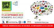 Pe 19 septembrie incepe cel mai mare eveniment de mobila din Romania - Targul international de mobila, echipamente si accesorii BIFE-SIM