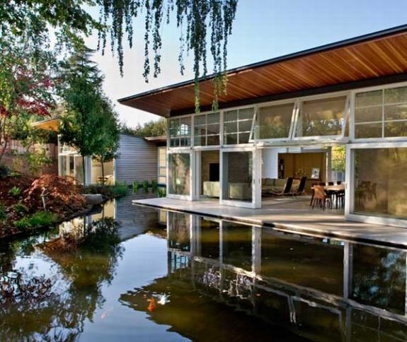 Casa de pe lac. Proiecte eco