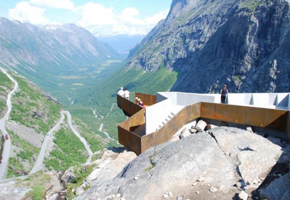 Platoul Trollstigen, Norvegia
