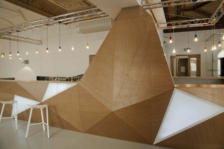 Cafeneaua MS. Design interior
