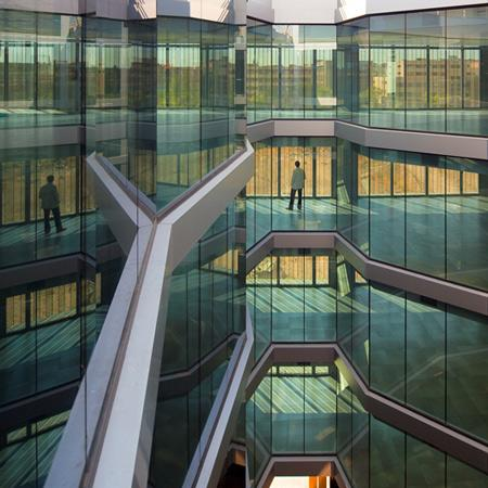 Cladire de birouri. Madrid