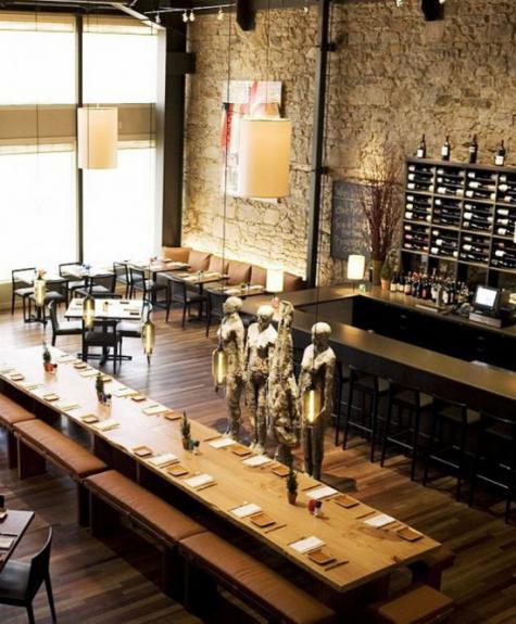 Restaurant vintage, Apparatus Architecture
