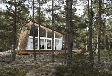 Cabane din lemn. Holick Sea