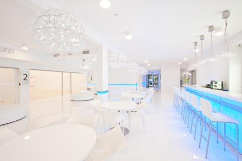 Clubul My Squash. Design interior