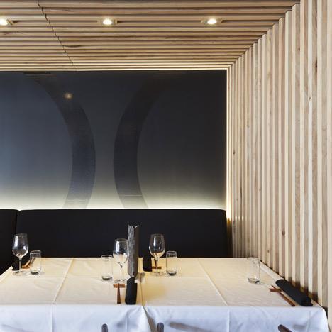 Amenajari interioare. Restaurantul Cocoro