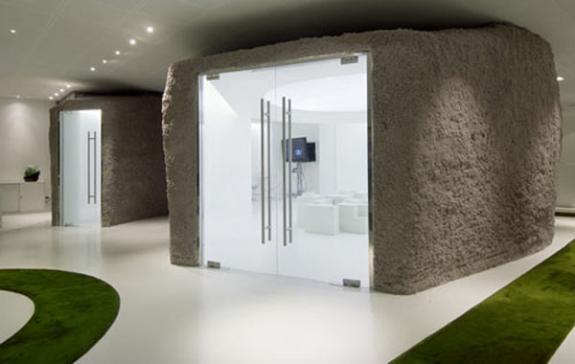 Agentia de publicitate JWT. Design interior
