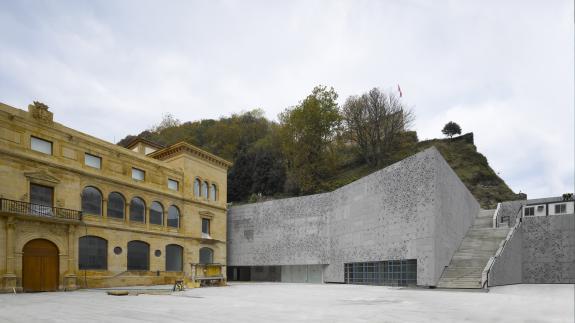 Video. Extinderea muzeului San Telmo