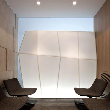 Design interior. Cabinet de avocatura
