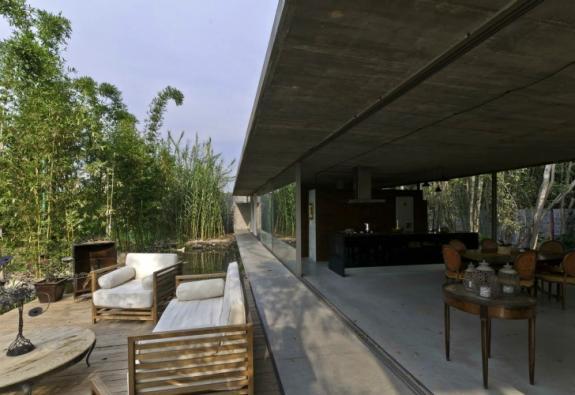 Casa din sticla. Mexic