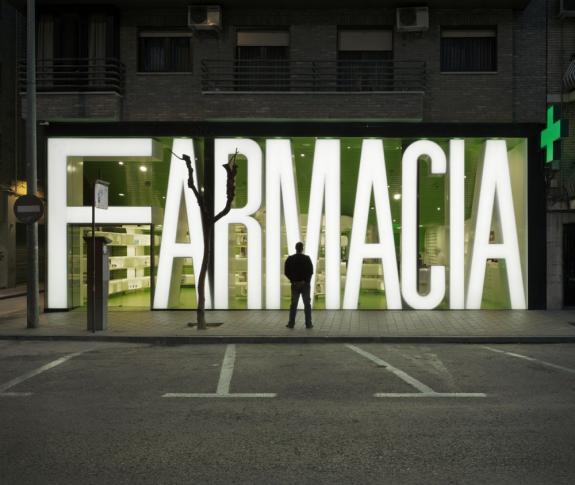 FARMACIA. Murcia, Spania