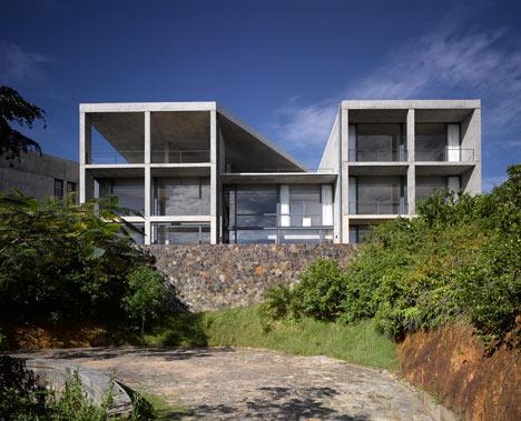 Casa din Sri Lanka de Tadao Ando
