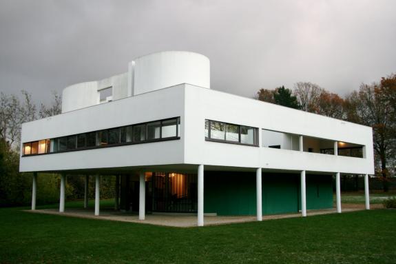 Prezentarea Vilei Savoye. Le Corbusier