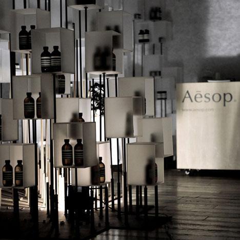 Expozitia produselor Aesop