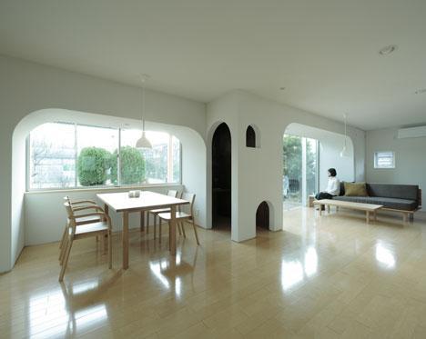 Design interior. Casa pentru trei surori