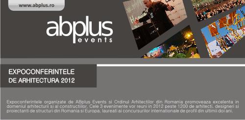 Expoconferintele de Arhitectura INGLASS, GIS si RIFF 2012