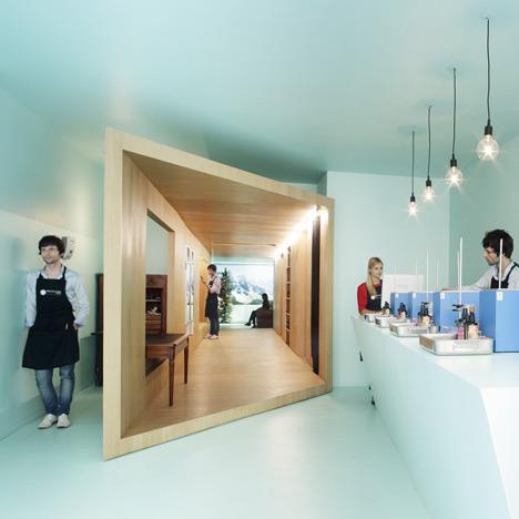 Design interior Heliocosm. Paris