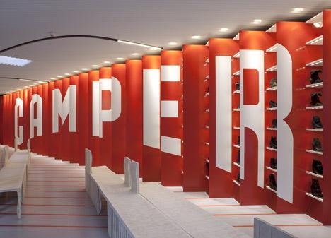 Magazinul Camper din New York