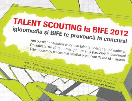 Concurs Talent Scouting la BIFE 2012