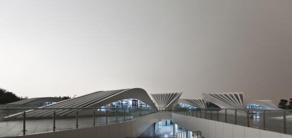 Centrul de vizitatori Rizhao