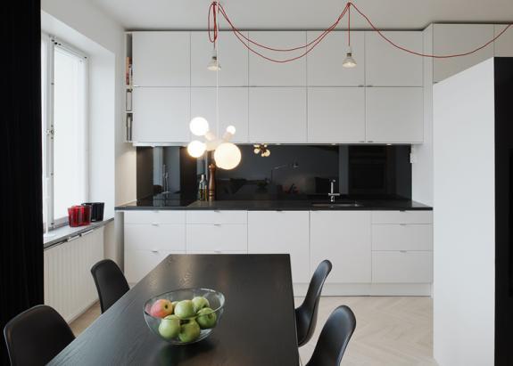 Studio la ultimul etaj. Stockholm
