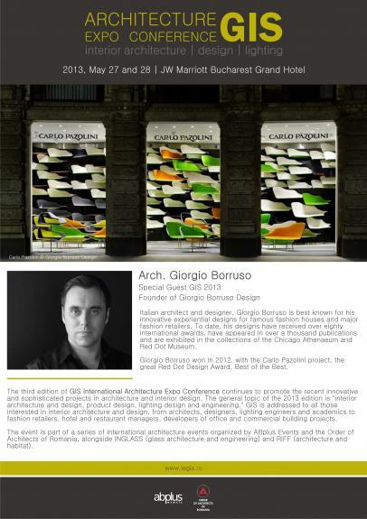 A treia editie GIS - Arhitectura de interior, design si iluminat