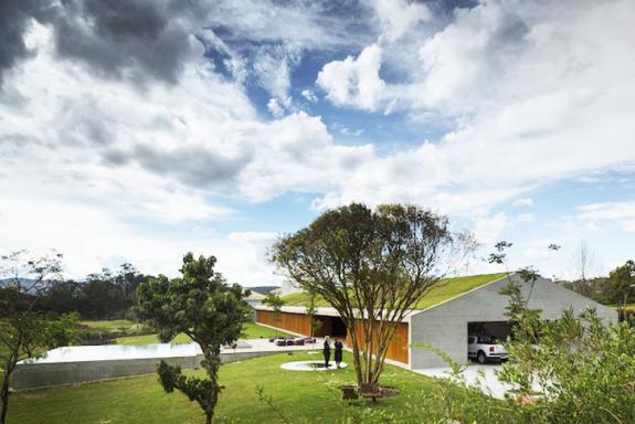 Casa MM profita din plin de conditiile climatice ale regiunii