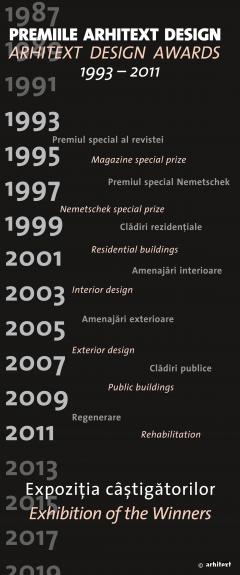 Expozitia online a castigatorilor Premiilor Arhitext design