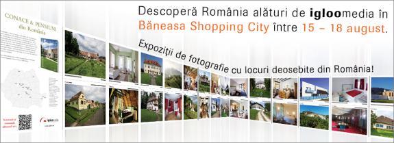 Descopera cele mai frumoase locuri din Romania alaturi de Igloo!
