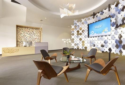 Sediul Skype din Palo Alto, California