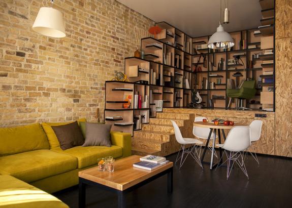 Renovarea unui apartament mic din Kiev