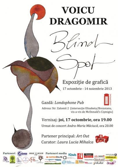 Expozitia de grafica Blind Spot - Voicu Dragomir