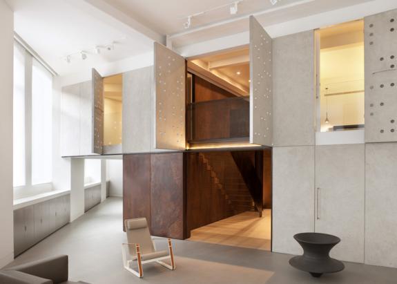Oficiu postal victorian transformat intr-un apartament